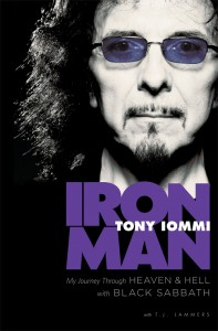 Black Sabbath.Tony Iommi.Iron Man.book cover.US.08-11